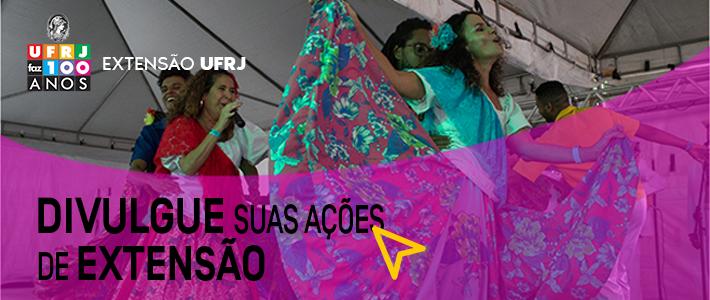 DIVULGUE SUAS AÇÕES DE EXTENSÃO!